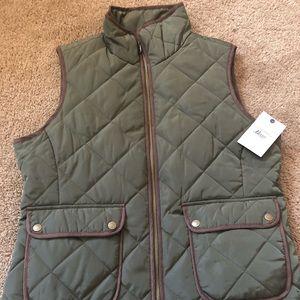 Bass quilt vest